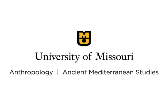 Example of a multiple unit signature setup. University of Missouri vertical signature which includes a black shield with gold