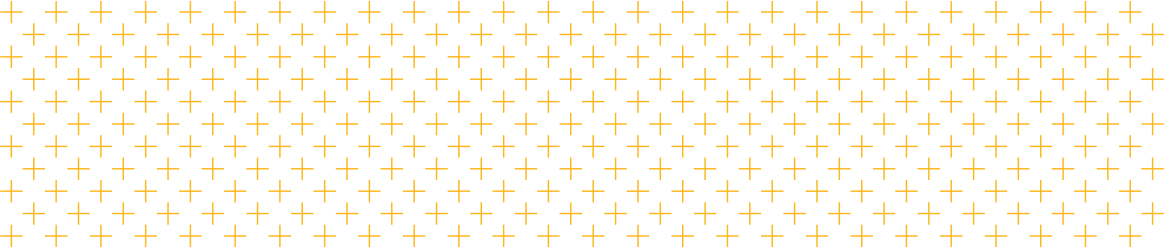Example of the Mizzou brand vector plus pattern. Gold vector plus symbols are laid out in a grid pattern.